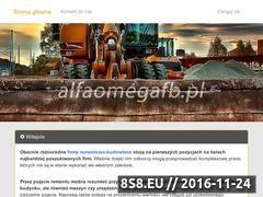 Miniaturka domeny www.alfaomegafb.pl