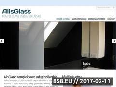 Miniaturka domeny www.alisglass.pl