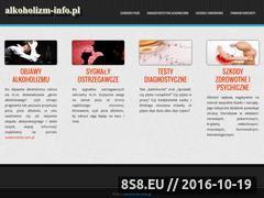 Miniaturka domeny www.alkoholizm-info.pl