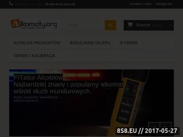 Zrzut strony Alkomaty.org - Alkomat dla Ciebie