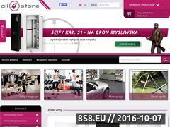 Miniaturka domeny all4store.pl