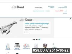 Miniaturka domeny www.alldent.info.pl