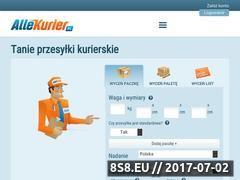 Miniaturka allekurier.pl (Przesyłki kurierskie nawet do 70% taniej!)