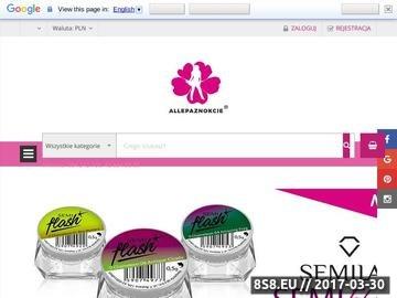 Zrzut strony Hurtownie kosmetyczne - tipsy, manicure, pedicure
