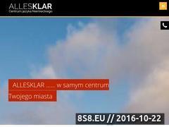 Miniaturka domeny allesklar.edu.pl