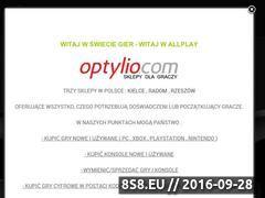 Miniaturka www.allplay.com.pl (Gry na PC, Playstation, Xbox i Nintendo - skup gier)