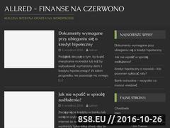 Miniaturka domeny allred.pl