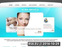 Miniaturka domeny alma-medica.pl
