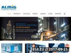 Miniaturka www.almig.pl (Sprężarki powietrza, kompresory powietrza oraz turbo)