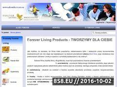 Miniaturka domeny www.aloesforever.eu