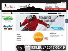 Miniaturka domeny www.alpenski.pl