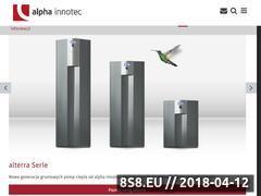 Miniaturka domeny alpha-innotec.pl