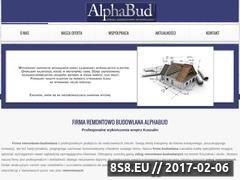 Miniaturka domeny alphabud.pl