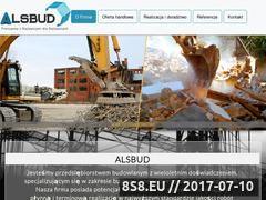 Miniaturka alsbud.pl (Przedsiębiorstwo budowlane)