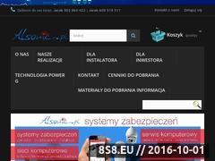 Miniaturka domeny alsonic.pl