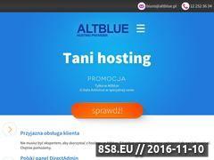 Miniaturka domeny altblue.pl