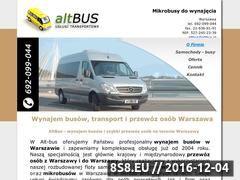 Miniaturka domeny www.altbus.pl