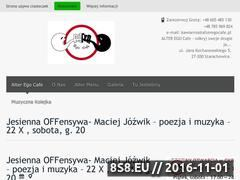 Miniaturka domeny alteregocafe.pl