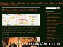 Miniaturka domeny www.alternatywacafe.waw.pl