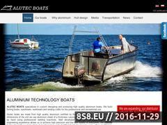 Miniaturka domeny alutecboats.com