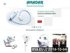 Miniaturka domeny www.amadar.pl