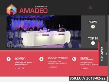 Zrzut strony AMADEO-Super imprezy integracyjne Warszawa