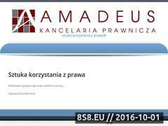 Miniaturka domeny www.amadeus.biz.pl