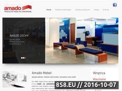Miniaturka domeny amado-mebel.com