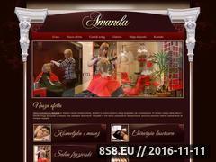 Miniaturka domeny amanda-uroda.pl