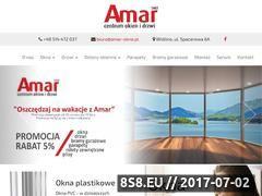 Miniaturka amar-okna.pl (Okna Żukowo)