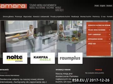 Zrzut strony Kuchnie na wymiar Szczecin
