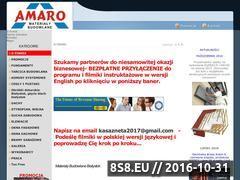Miniaturka domeny amaro-mb.pl