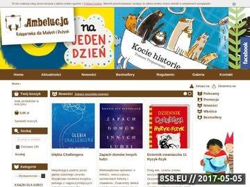 Zrzut strony Książki dla dzieci - ambelucja.pl