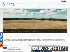 Miniaturka www.ambiens.pl (Raport oddziaływania na środowisko)