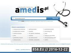 Miniaturka domeny www.amedis.pl