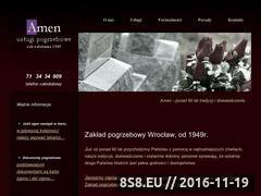 Miniaturka domeny amen.wroclaw.pl