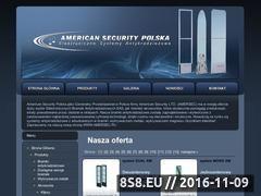 Miniaturka domeny www.americansecurity.pl