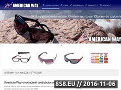 Miniaturka domeny www.americanway.com.pl