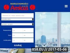 Miniaturka domeny www.amicus.nieruchomosci.pl