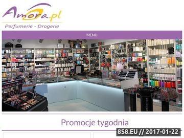 Zrzut strony Perfumy damskie Perfumy męskie Perfumeria Internetowa Amora.pl