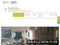 Miniaturka domeny www.ampmdesign.pl
