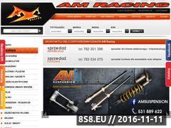 Miniaturka amracing.pl (Części do motocykli, quadów, skuterów oraz cross)
