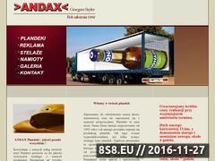 Miniaturka domeny www.andax.com.pl