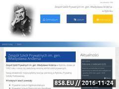 Miniaturka domeny www.anders.rybnik.pl