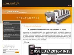 Miniaturka domeny andruk.pl