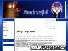 Miniaturka domeny www.andrzejki.swieta.biz