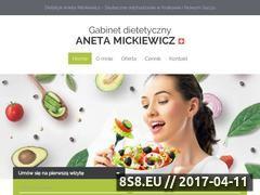 Miniaturka domeny www.anetamickiewicz.pl