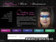 Miniaturka anetta.com.pl (Zabiegi upiększające oraz makijaż permanentny)