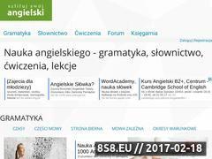 Miniaturka www.ang.pl (Darmowe materiały do nauki angielskiego)