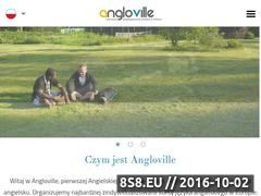 Miniaturka angloville.pl (Kurs językowy w Anglii z firmą Angloville)